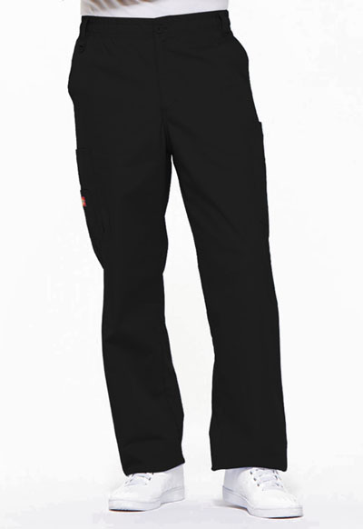 EDS Signature Men Men's Zip Fly Pull-On Pant Black