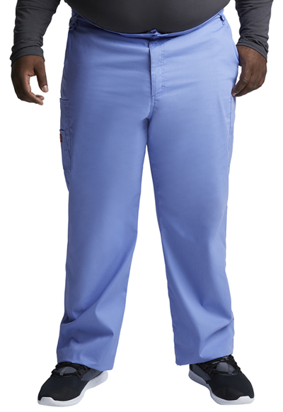 EDS Signature Men's Men's Zip Fly Pull-On Pant Blue