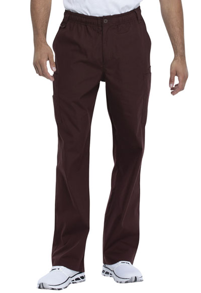 EDS Signature Men Men's Zip Fly Pull-On Pant Brown