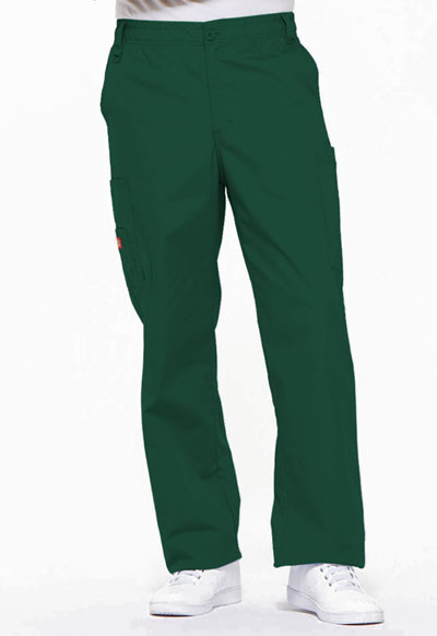 EDS Signature Men's Men's Zip Fly Pull-On Pant Green
