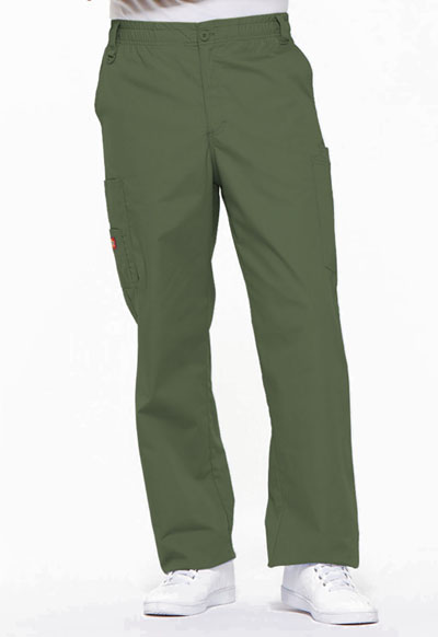 EDS Signature Men Men's Zip Fly Pull-On Pant Green