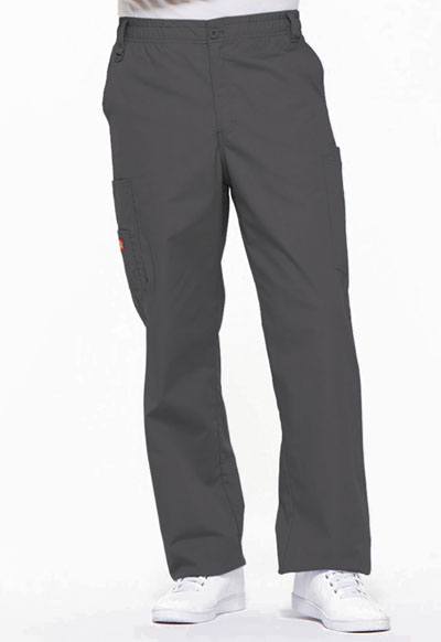 EDS Signature Men's Men's Zip Fly Pull-On Pant Gray
