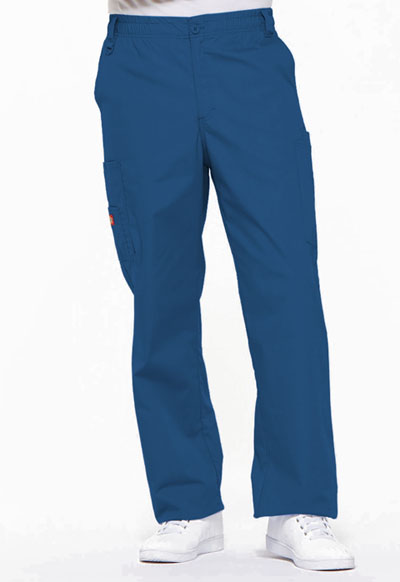 EDS Signature Men Men's Zip Fly Pull-On Pant Blue