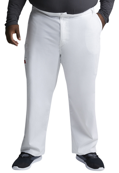 EDS Signature Men Men's Zip Fly Pull-On Pant White