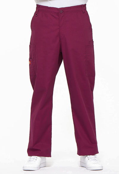 EDS Signature Men's Men's Zip Fly Pull-On Pant Red