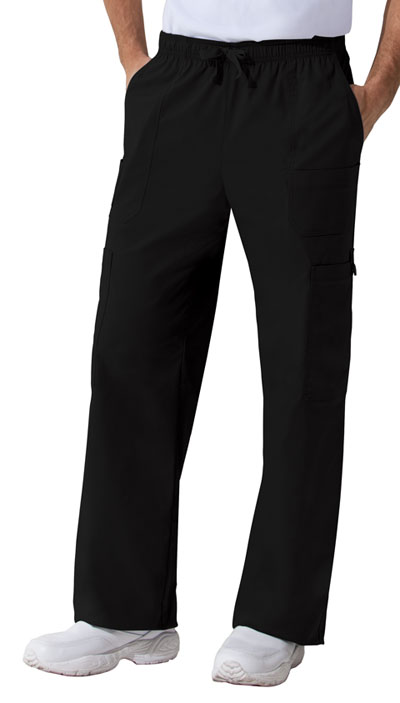 Gen Flex Men's Men's Drawstring Cargo Pant Black