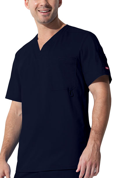 "Gen Flex Men's ""Youtility"" Men's V-Neck Top Blue"