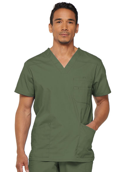 EDS Signature Men's Men's V-Neck Top Green