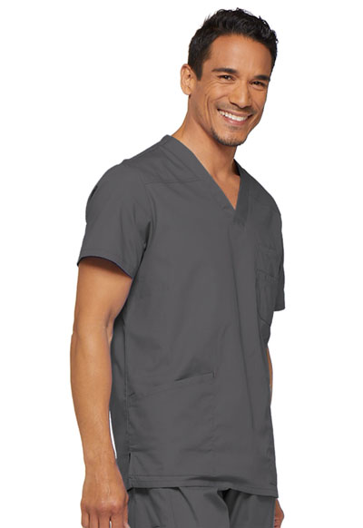 4239be6b14a EDS Signature Men's V-Neck Top in Pewter 81906-PTWZ from V.E.B. Scrubs