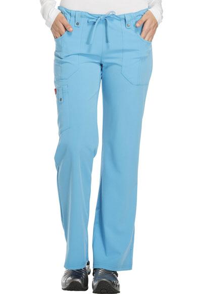 Dickies Xtreme Stretch Scrubs Women/'s PETITE Mid-Rise Drawstring Cargo Pant