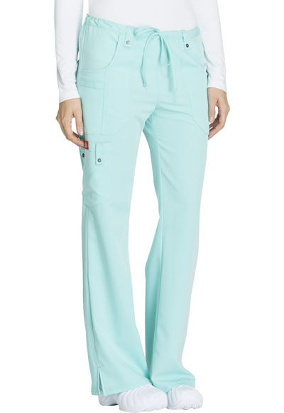 771a4ea5ba2 Photograph of Xtreme Stretch Women's Mid Rise Drawstring Cargo Pant Blue  82011-ABUZ