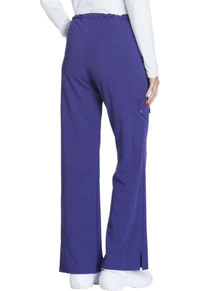 becbd174725 Photograph of Xtreme Stretch Women's Mid Rise Drawstring Cargo Pant Purple  82011-GPWZ