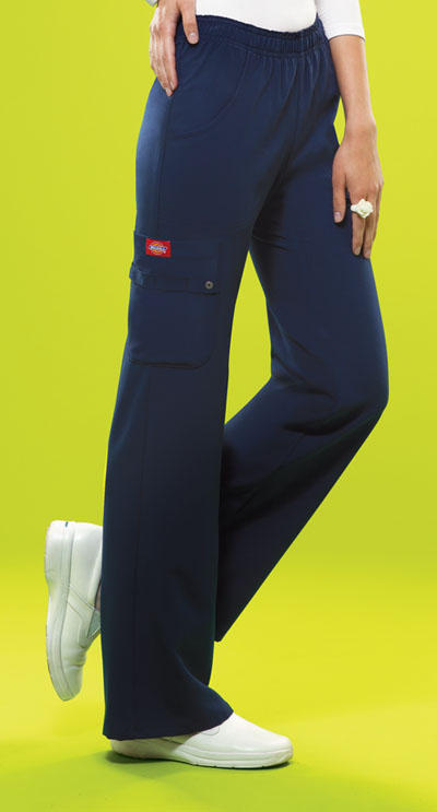 45264f4c941 Xtreme Stretch Mid Rise Pull-On Cargo Pant in D-Navy 82012-NVYZ from ...