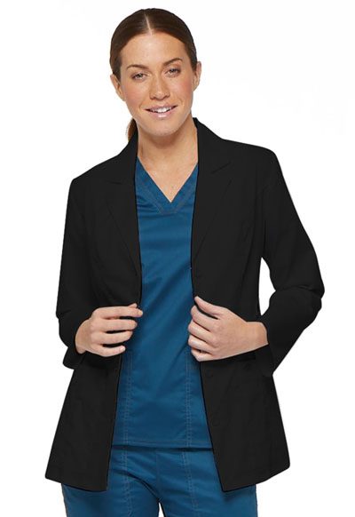 "Gen Flex Women's 28"" Lab Coat Black"