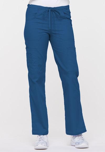 3c17bf2d2a4 Photograph of EDS Signature Women's Low Rise Drawstring Cargo Pant Blue  85100-ROWZ