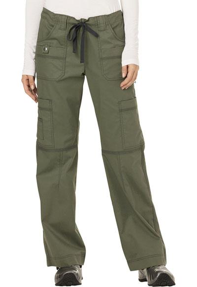 Dickies Gen Flex Women\'s Low Rise Drawstring Cargo Pant Green