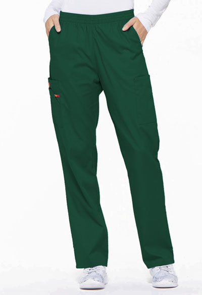 Dickies EDS Signature Women's Natural Rise Tapered Leg Pull-On Pant Green