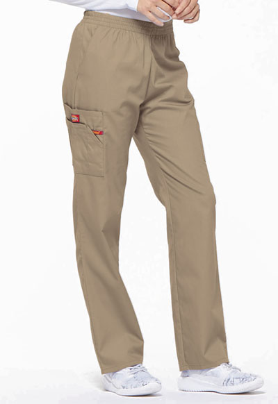 Dickies EDS 86106T Women/'s Natural Rise Pull-On Pant