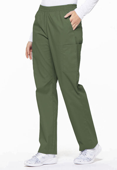 Dickies Natural Rise Tapered Leg Pull-On Pant 86106 OLWZ Olive Free Shipping