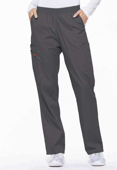 Dickies EDS Signature Women's Natural Rise Tapered Leg Pull-On Pant Gray