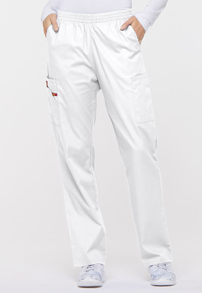 Dickies EDS Signature Women's Natural Rise Tapered Leg Pull-On Pant White