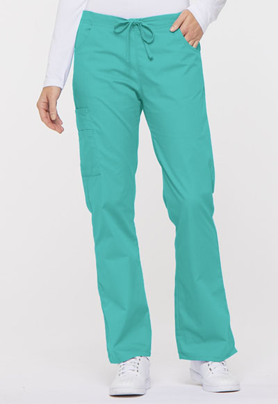 EDS Signature Women Mid Rise Drawstring Cargo Pant Blue