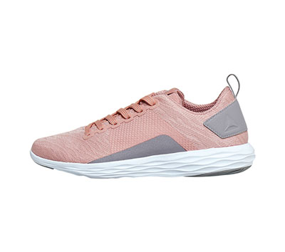 Reebok Women's ASTRORIDEWALK Chalk Pink, Powder Grey, White