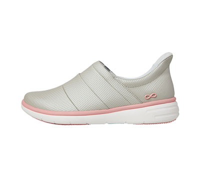 Infinity Footwear Women's BREEZE LightGrey,PowerPink,White