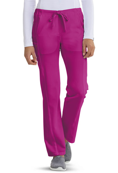 Careisma Fearless Women's Low Rise Straight Leg Drawstring Pant Purple