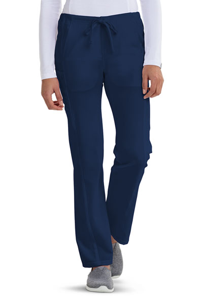 Careisma Fearless Women's Low Rise Straight Leg Drawstring Pant Blue