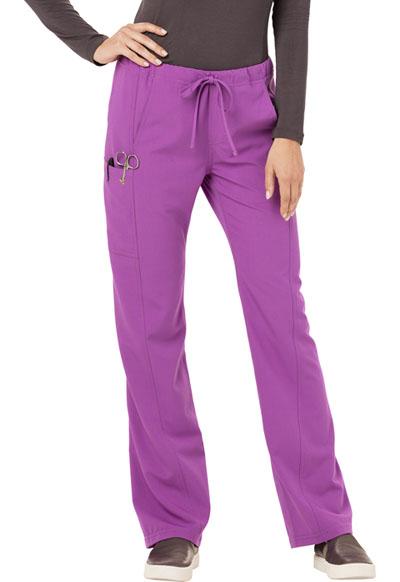Careisma Fearless Women's Low Rise Straight Leg Drawstring Pant Purple