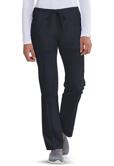 Careisma Fearless Women's Low Rise Straight Leg Drawstring Pant Gray