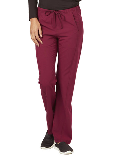 Careisma Fearless Women's Low Rise Straight Leg Drawstring Pant Red