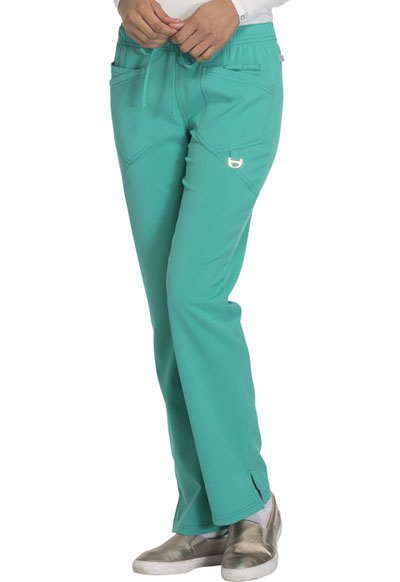 Careisma Charming Women's Low Rise Straight Leg Drawstring Pant Green