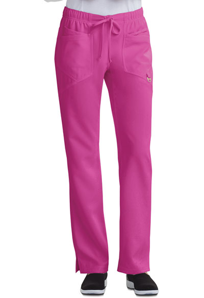 Careisma Charming Women's Low Rise Straight Leg Drawstring Pant Purple