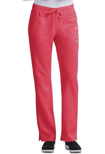 Careisma Charming Women's Low Rise Straight Leg Drawstring Pant Pink