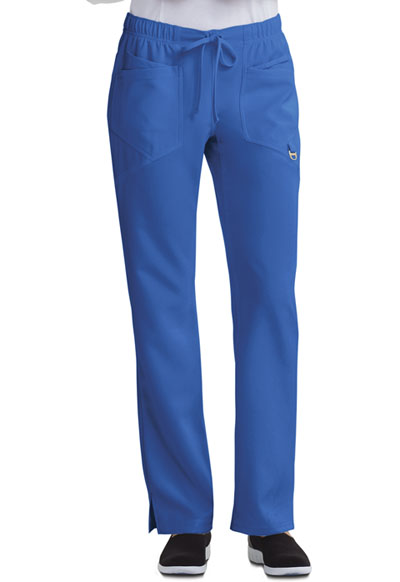 Careisma Charming Women's Low Rise Straight Leg Drawstring Pant Blue