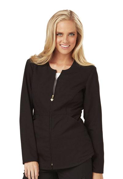 Careisma Fearless Women's Zip Front Jacket Black