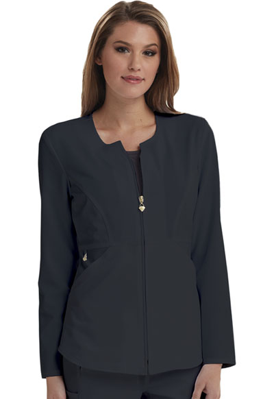 Careisma Fearless Women's Zip Front Jacket Gray