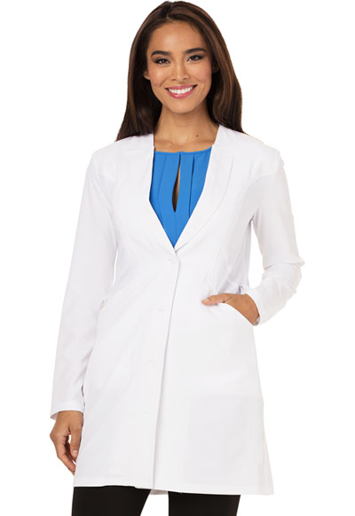 Fearless Women's 33 Lab Coat White