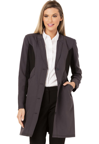 Fearless Women's 33 Lab Coat Gray