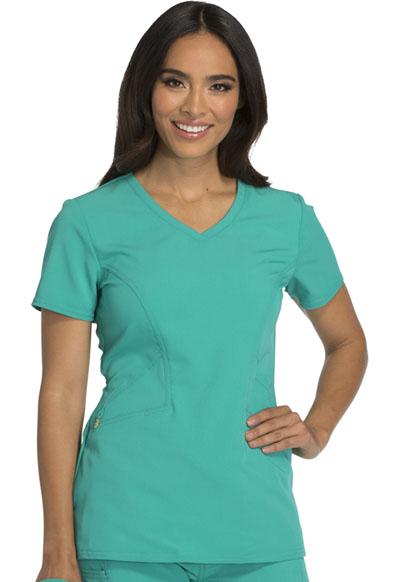 Careisma Fearless Women's V-Neck Top Green