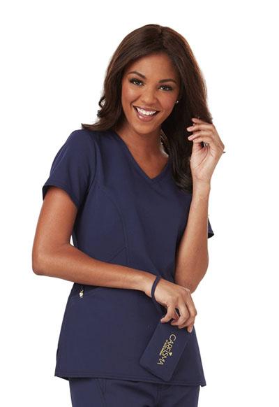 Careisma Fearless Women's V-Neck Top Blue