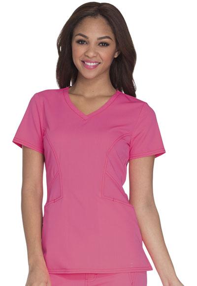 Careisma Fearless Women's V-Neck Top Pink