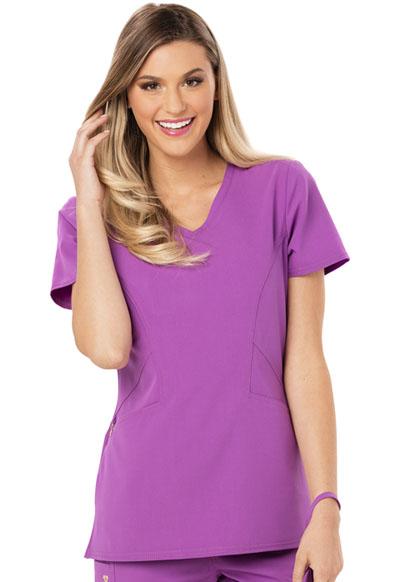 Careisma Fearless Women's V-Neck Top Purple
