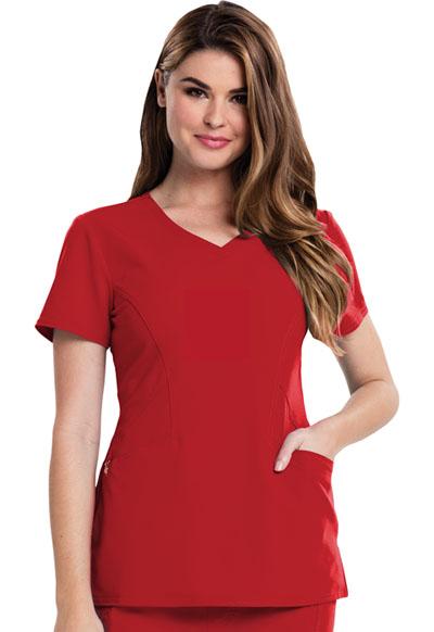 Careisma Fearless Women's V-Neck Top Red