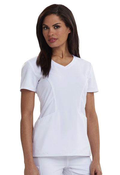 Careisma Fearless Women's V-Neck Top White