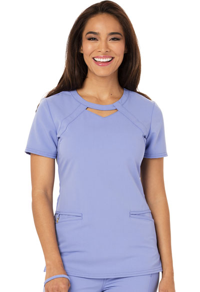Careisma Fearless Women's Round Neck Top Blue