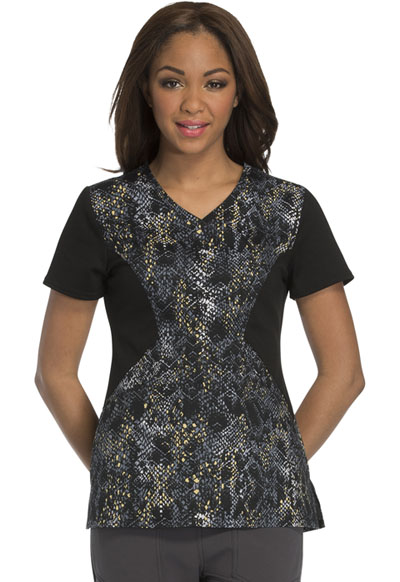 Careisma Prints Women's V-Neck Top Give Me A Hiss