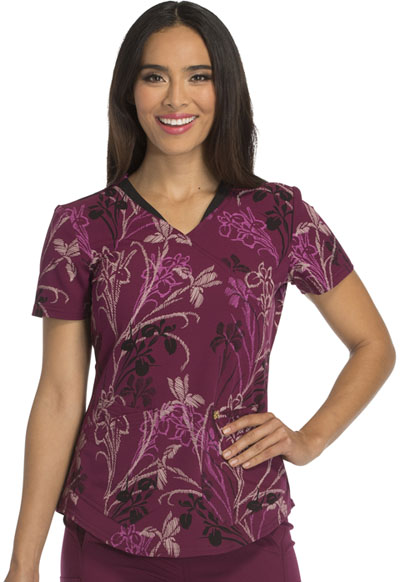 Careisma Prints Women's Mock Wrap Top You're So Vine